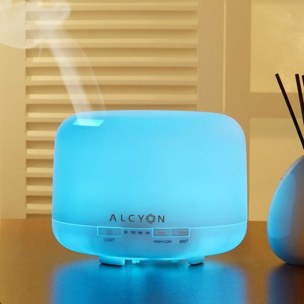 Alcyon-TAIKO ULTRASONIC AROMATHERAPY DIFFUSER 500ml | 16+hrs