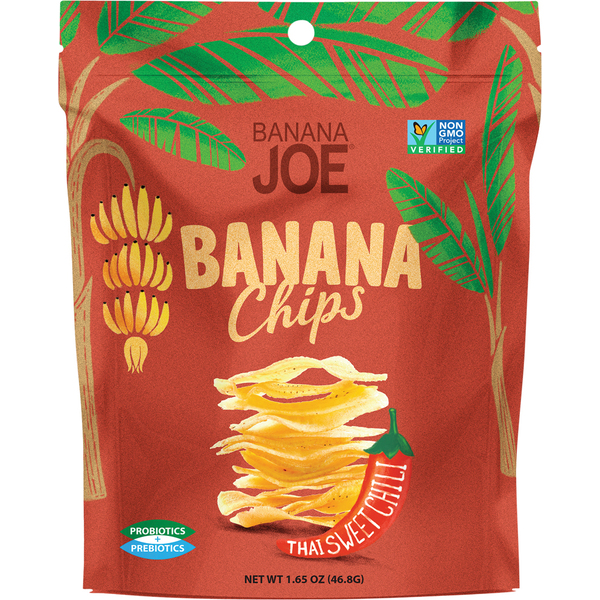 Banana Joe-Thai Sweet Chili Flavoured Banana Chips 46.8G