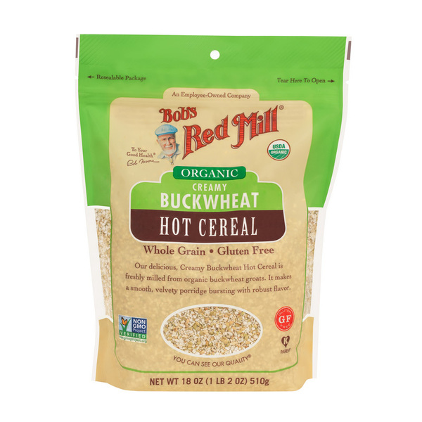 Bob`s Red Mill-OrganicCreamy Buckwheat Cereal 510G