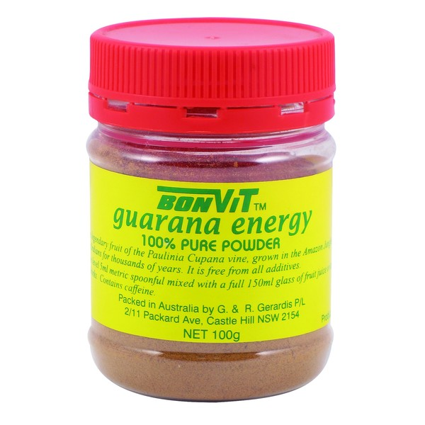 Bonvit-Pure Guarana Powder 100G
