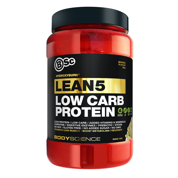 BodyScience-HydroxyBurn Lean5 Low Carb Protein Banana 900G