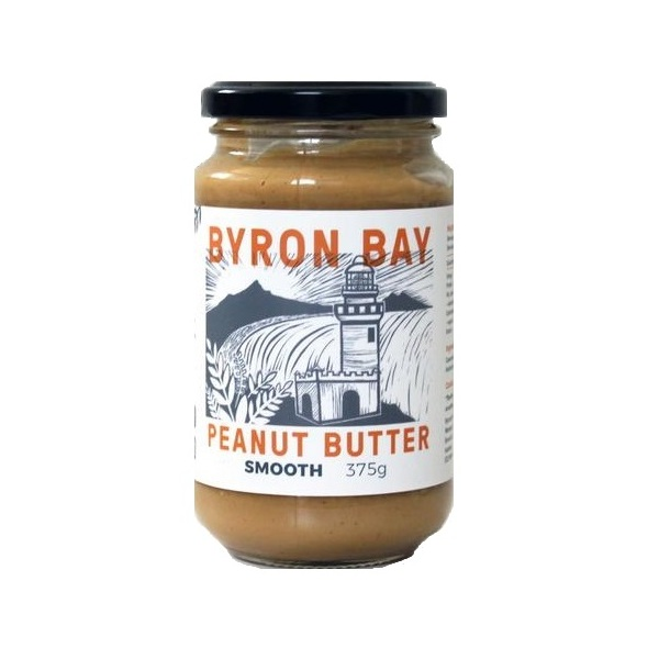 Byron Bay Peanut Butter-Peanut Butter Smooth  375G