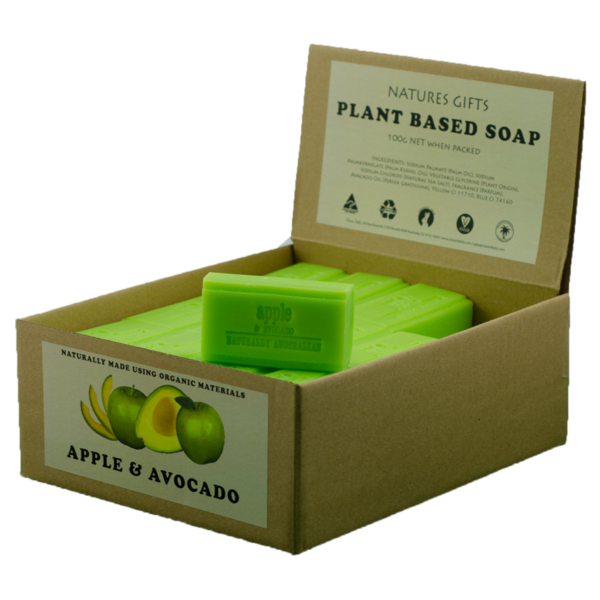 Clover Fields-Apple and Avocado Soap 100G