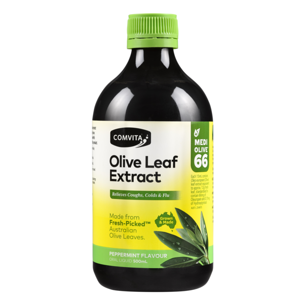 Comvita-Olive Leaf Extract Peppermint 500ML