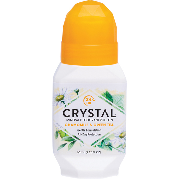 Crystal-Essence Roll On Chamomile & Green Tea 66ML