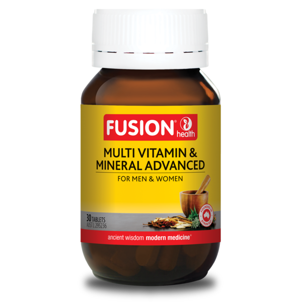 Fusion Health-Multi Vitamin & Mineral Advanced 30T