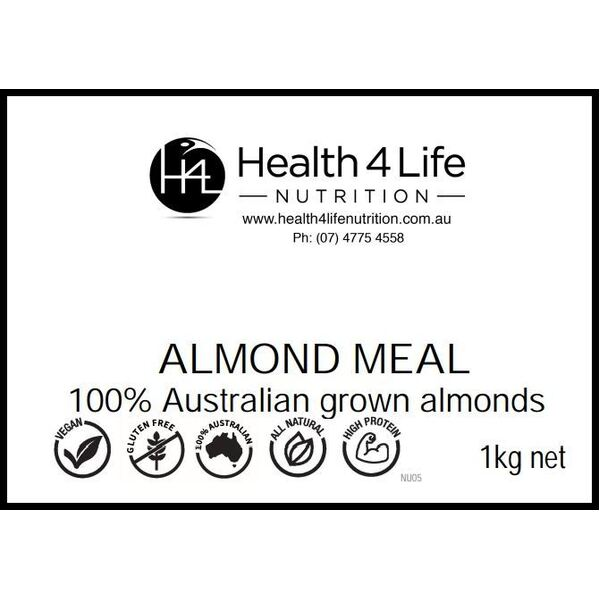 Health 4 Life Nutrition-Blanched Almond Meal 1KG