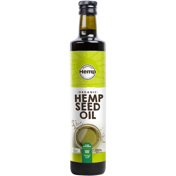 Hemp Foods Australia-Organic Hemp Oil 250ML