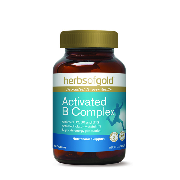 Herbs of Gold-Activated B Complex 60C