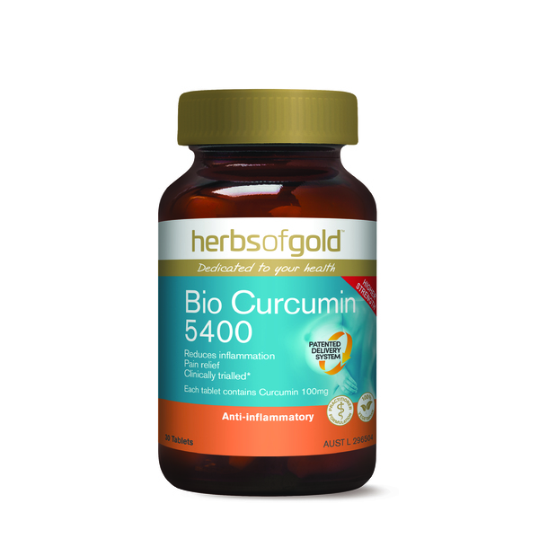 Herbs of Gold-Bio Curcumin 5400 30T