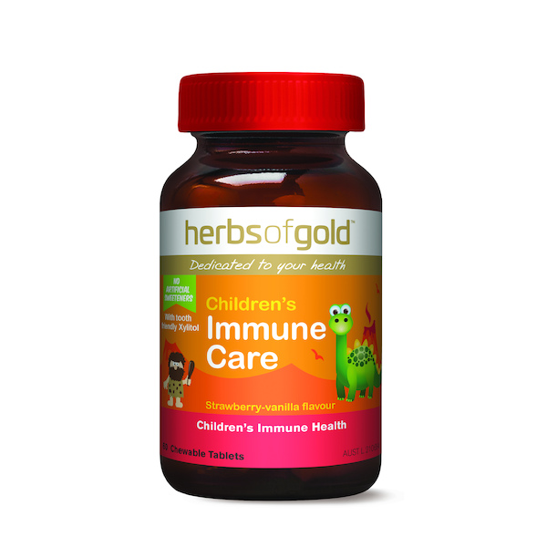 Herbs of Gold-Children's Immune Care (Chewable) 60T
