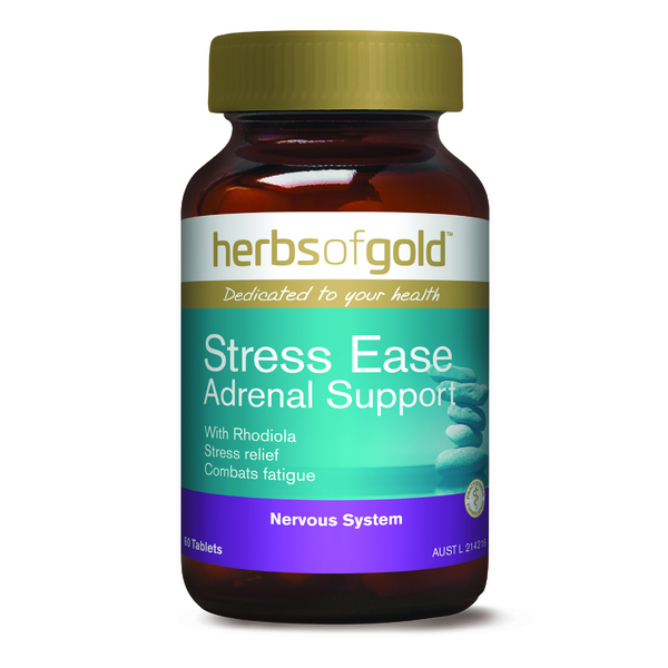 Herbs of Gold-Stress Ease Adrenal Support 60T