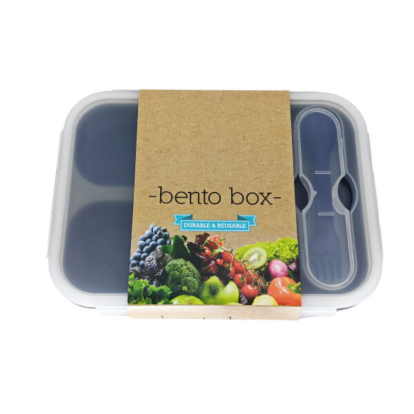 Kuvings-Bento Box Ocean Blue 3 Hole Container
