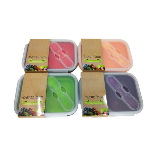 Kuvings-Bento Box Red 2 Hole Container