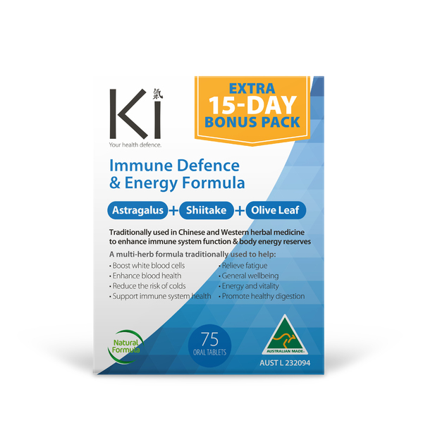 Martin & Pleasance-KI Immune Defence and Energy Formula 60T