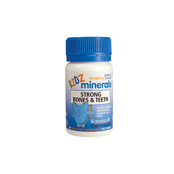Martin & Pleasance-Kidz Minerals Strong Bones and Teeth 100T
