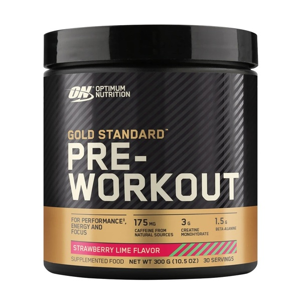 Optimum Nutrition-Gold Standard Pre Workout Strawberry Lime 30 Serve