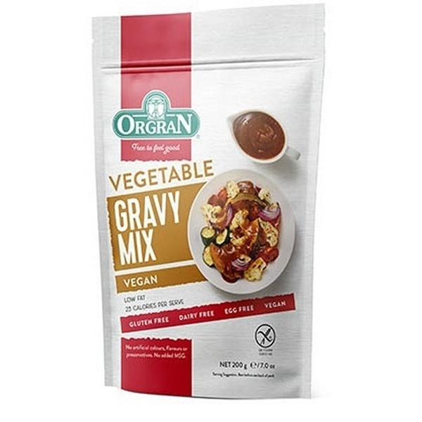 Orgran-Vegetable Gravy Mix 200G