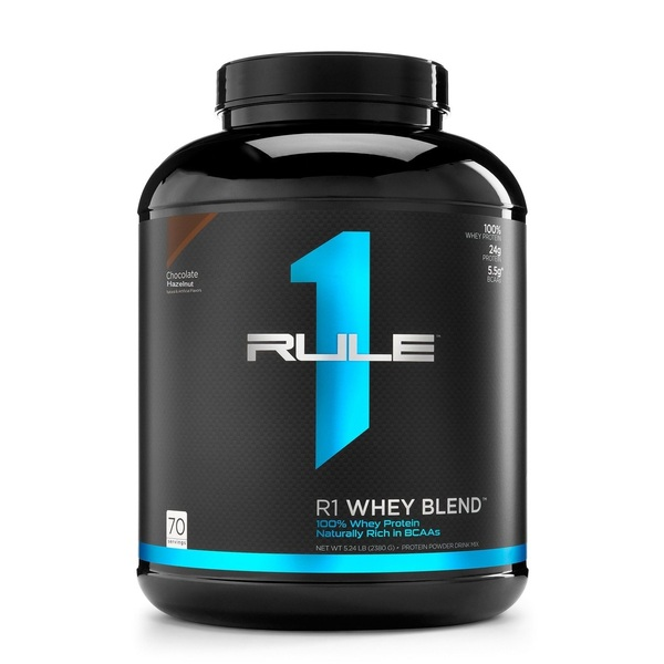 RULE 1-R1 Whey Blend Chocolate Hazelnut 5LB
