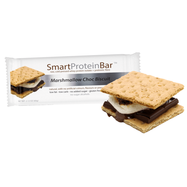 Smart Protein Bar-Marshmallow Choc Biscuit Protein Bar 60G