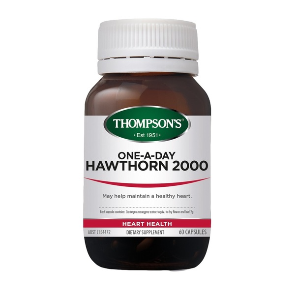 Thompson's-One-A-Day Hawthorn 2000 60C