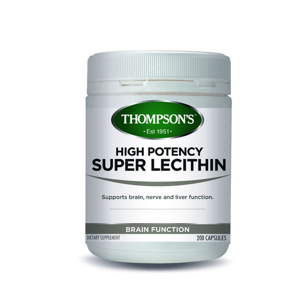 Thompson's-High Potency Super Lecithin 200C