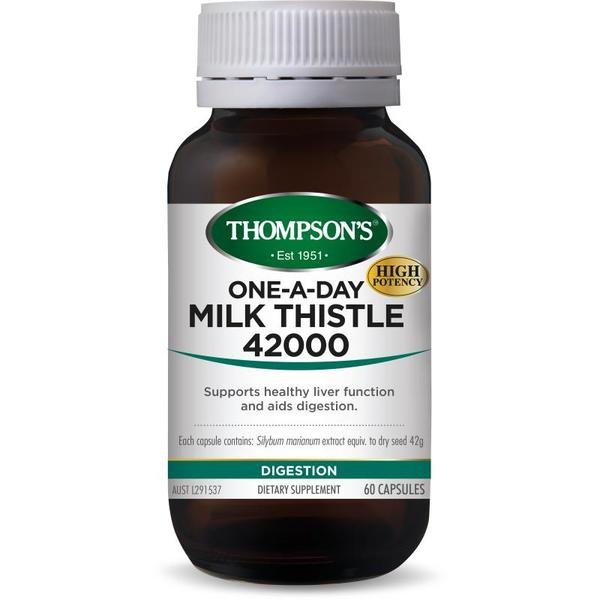 Thompson's-One A Day Milk Thistle 42000 60C