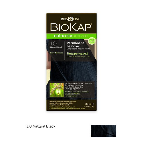 BioKap Nutricolor-Delicato 1.0 Natural Black