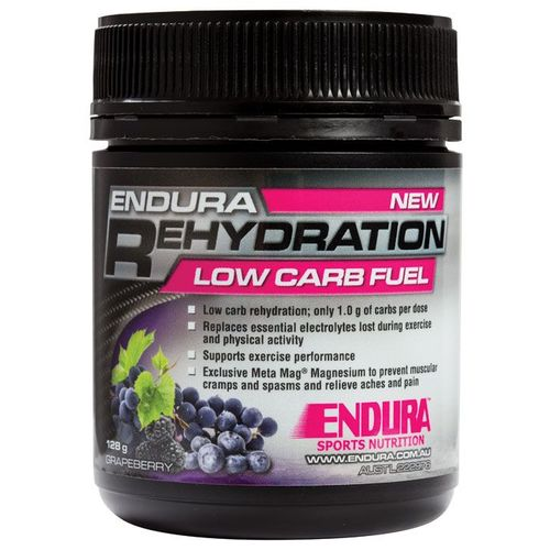 Endura-Rehydration Low Carb Fuel Grapeberry 128G