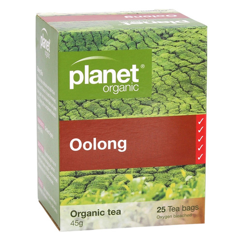 Planet Organic-Oolong 25 Tea Bags